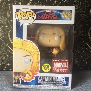 Captain Marvel Funk Pop Collector Corps Exclusive
